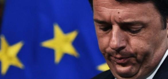 Premier Włoch Renzi po przegranym referendum