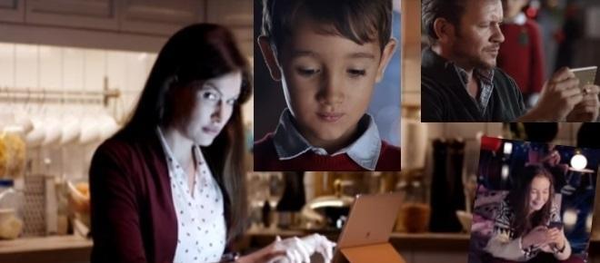 Huawei Werbung fordert: Geht an Weihnachten bei Facebook offline!