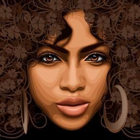 Imagem Tropicurls/natural-hair-art/ (Pinterest)