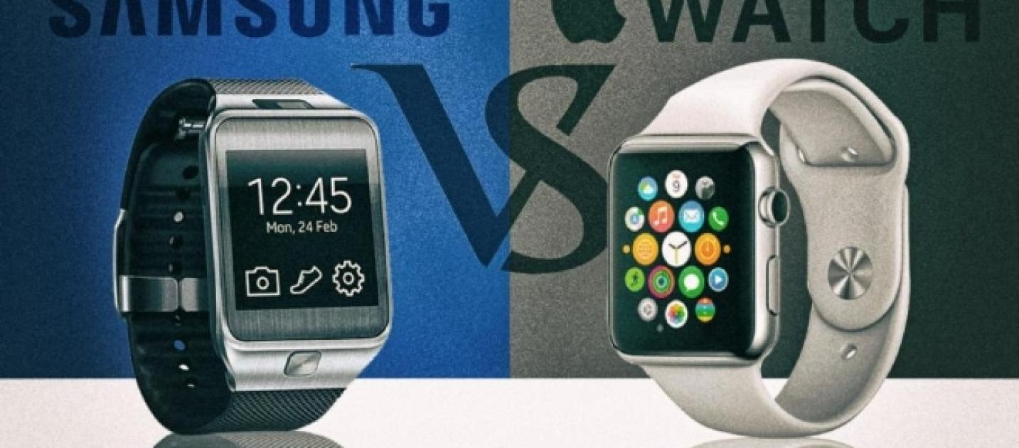 samsung gear s3 vs apple watch 2 qual lo smartwatch