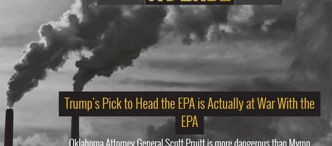 Donald Trump place un climato-sceptique en charge de l'environnement