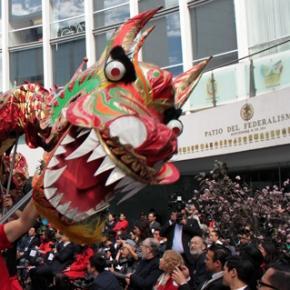 Celebraciones del Año nuevo chino en el Senado