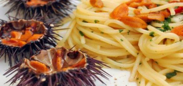 Ricetta spaghetti ai ricci di mare
