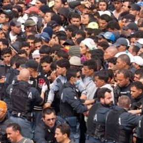 Maioria dos refugiados são homens em idade militar