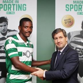 William é do Sporting até 2020.