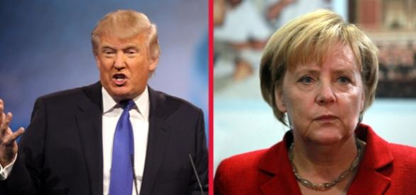 Trump o critică pe Merkel în criza refugiaţilor