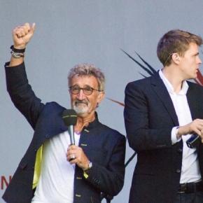 Jordan (left) joins 'Top Gear' team