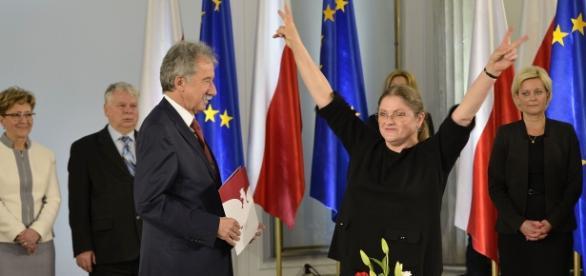 Poseł Krystyna Pawłowicz Fot.A.Grycuk / Wikipedia