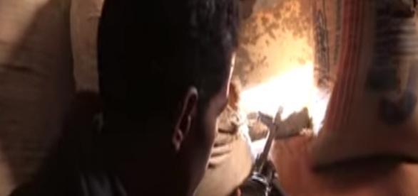 Libia - tylko 300 km od Włoch (scrn Vice News)