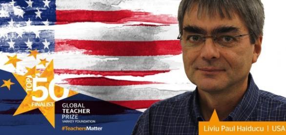 Profesorul de fizică Liviu Paul Haiducu