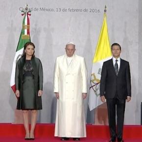 Foto del Papa tomada de Sin Embargo.