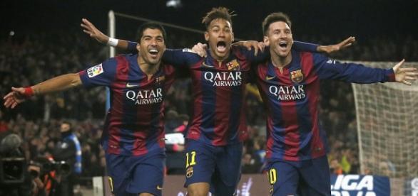 Messi, Neymar e Suárez: o trio-maravilha do Barça