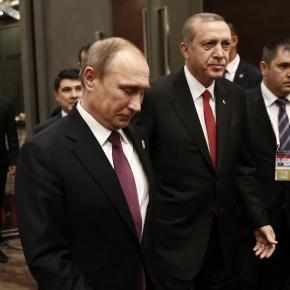 Putin i Erdogan - obecnie śmiertelni wrogowie