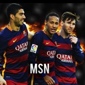 La famosa 'MSN' hizo de las suyas contra el Celta