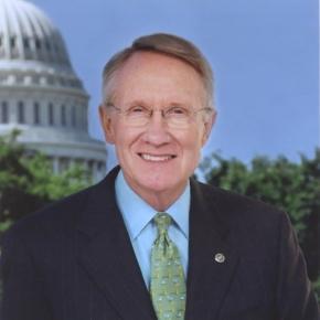 Senate Minority Leader Harry Reid (Credit Senate)
