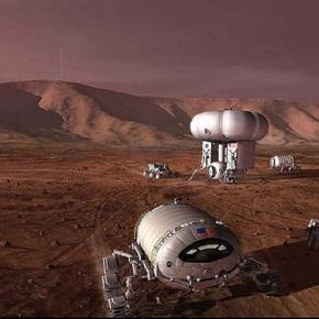 The first Mars explorers (credit: NASA)