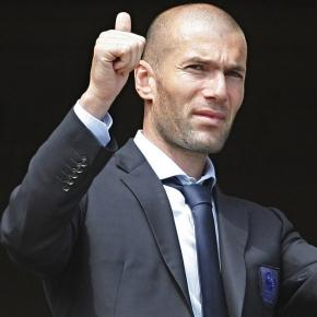 Zinedine Zidane doskonale czuje się w Madrycie