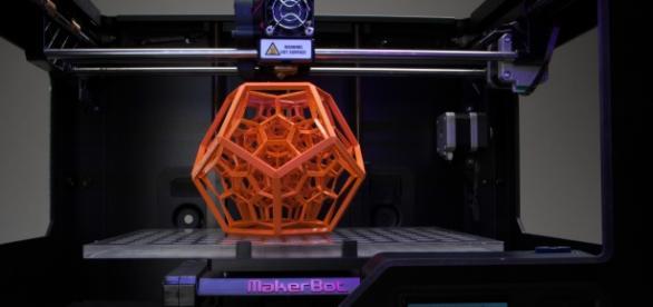 3D printer in action via Flickr