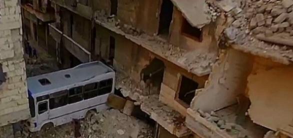 Aleppo wurde weitgehend zerstört – ein Trauerspiel