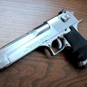 Arma de fuego de las más conocidas, Desert Eagle,