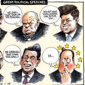 Caricatura D.Cameron, dreapta jos