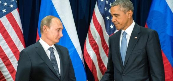 Barack Obama si Vladimir Putin