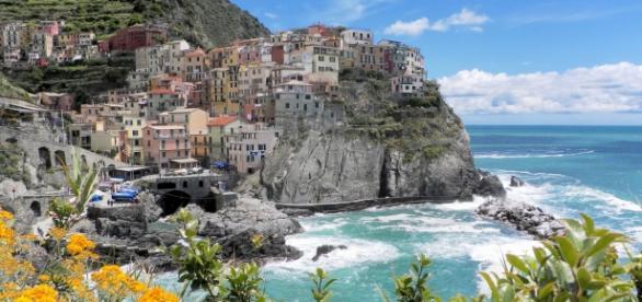 Manarola, drugie z pięciu miasteczek Cinque Terre.