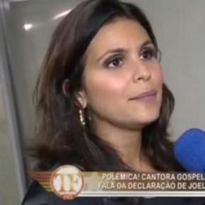 Aline Barros dá declaração polêmica sobre gays