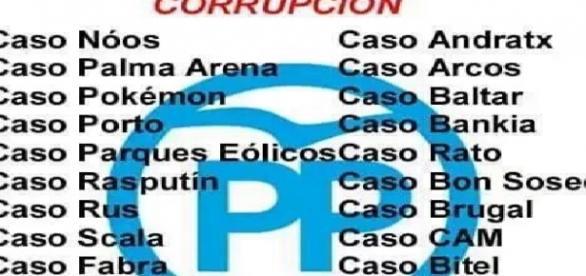 Todos los casos de corrupci n del pp - Casos de corrupcion en espana actuales ...