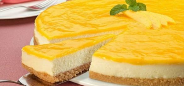 Ricetta della torta Cheesecake all'ananas
