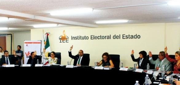 Sesión ordinaria del Instituto Electoral de Puebla