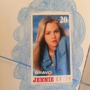 Jennie Garth, nee sorry: Kelly. Bravo-Sticker