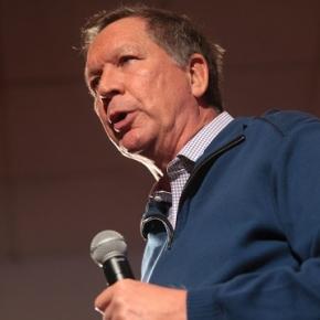 Presidential candidate John Kasich. (Flickr)