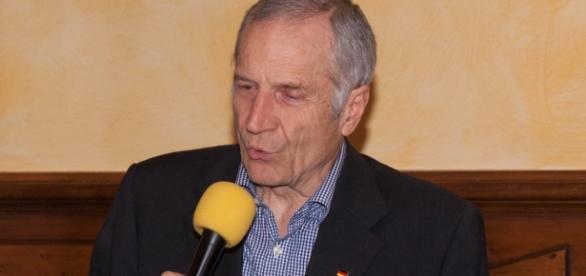 Martin Hohmann (AfD) in Aktion.