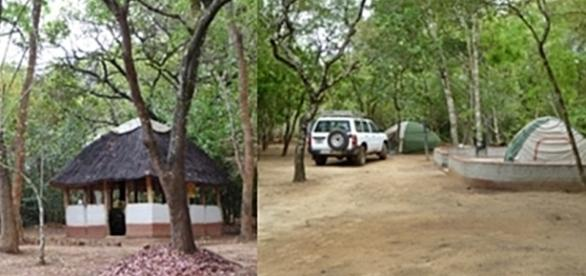 Natwange camp. Courtesy of Natwange
