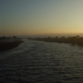 Rio Cazones, foto tomada el 7 de febrero de 2010