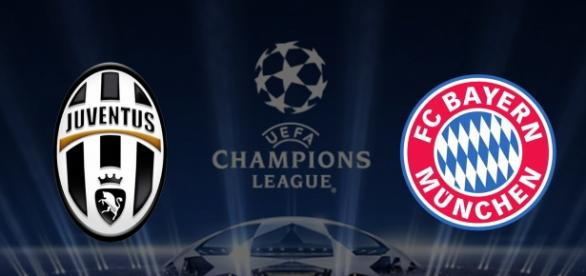 La Juve recibió al Bayern en su estadio