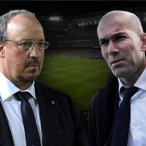 Foto cortesía de foci-live.hu Benítez-Zidane