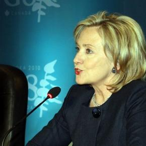Hillary Clinton (Credit: State Department)