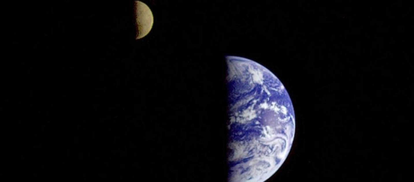 earth and moon together - photo #5
