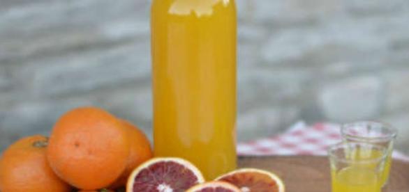 Ricetta casalinga del liquore di arance