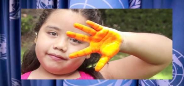 Foto del video de la ONU Dia Naranja