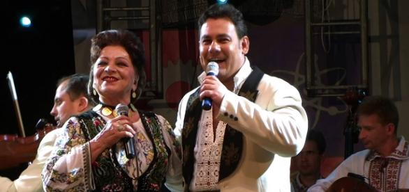 Maria Ciobanu alături de fiul său, Ionuț Dolănescu