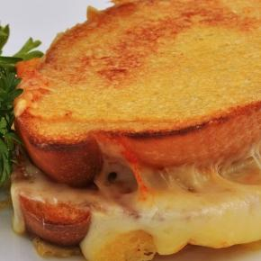 Pictured: grilled cheese sandwich via Wikimedia