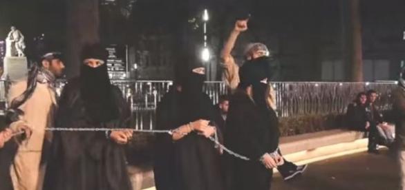 Moduri de tortură pentru femeile din Califat