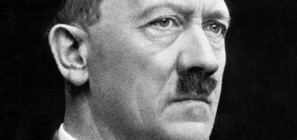 Portrait of Adolph Hitler (Wikipedia)