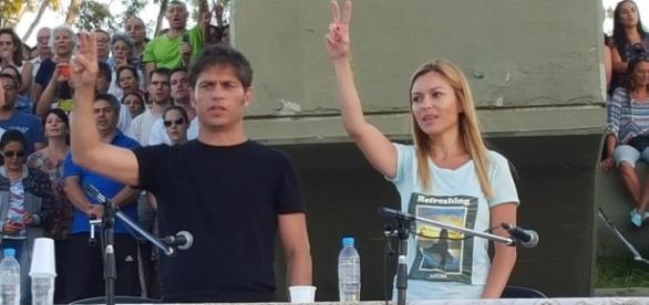 Kicillof volvió ayer a Córdoba (Foto: La Nación).