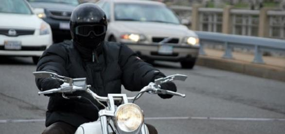 Quelle: Motorcycle Rider by Peter Griffin