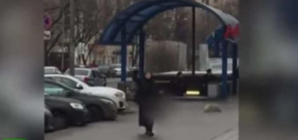 Scene înfiorătoare la o staţie de metrou din Rusia