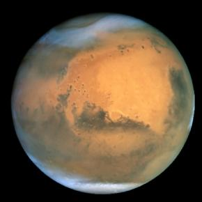 Mars as seen by the Hubble Space Telescope (NASA)